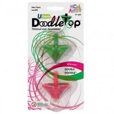 Noriel INT_N0731 Set titirezi Doodletops verde/roz Micul Artist
