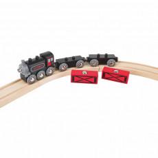 """HAPE E3717A Set de jocuri Trenul de marfă cu aburi """"Steam tren de marfă"""""""