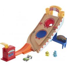 """Mattel Hot Wheels GCP24 Pista de jucarii Povestea 4 """"Carnaval de salvare"""""""