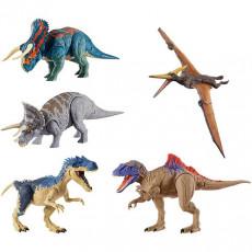 """Mattel Jurassic World GDT38 Figuri de bază ale dinozaurilor """"Double lovitură"""" (în sortiment)"""