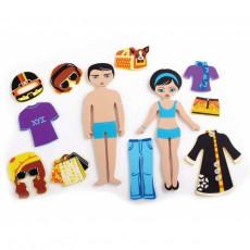 """NORIEL 547023 Edushape Set 39 figurine pentru baie Magic Creation, """"Personaje"""""""