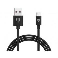 Cablu HELMET Basic HL-111BK MicroUSB, Black