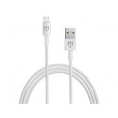 Cablu HELMET HL-111W MicroUSB, White