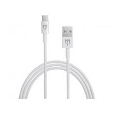 Cablu HELMET Basic HL-112W Type-C, White