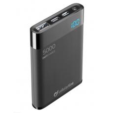 Power Bank 5000 mAh HD Polimer Battery, Black