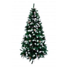Brad artificial Silver sparkles, 180 cm