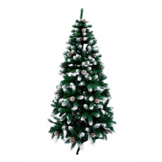 Brad artificial Silver sparkles, 220 cm