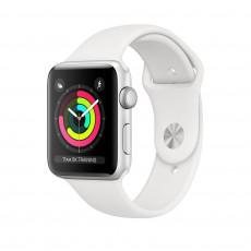 Ceas inteligent Apple Watch 3 38mm (GPS), Silver, White Sport Band