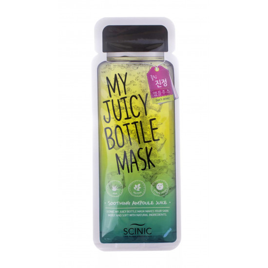 Scinic My Juicy Bottle (Soothing Ampoule Juice) - Masca din panza