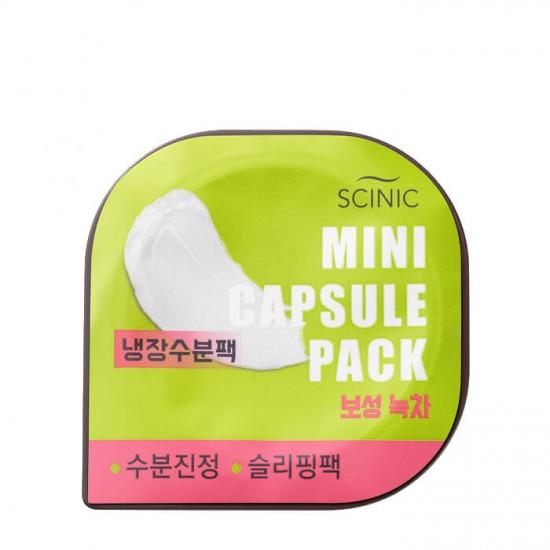 Scinic Mini Capsule Skin Care (Boseong Green Tea) - Masca pentru fata cu extract de Ceai Verde