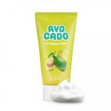 Scinic Avocado Cleansing Foam - Spuma de curățare cu extract de Avocado