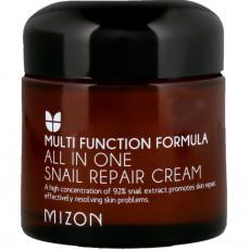 Mizon All In One Snail Repair Cream (Mostră) - Cremă regenerantă multifuncţională cu filtratul din mâzgă de melc