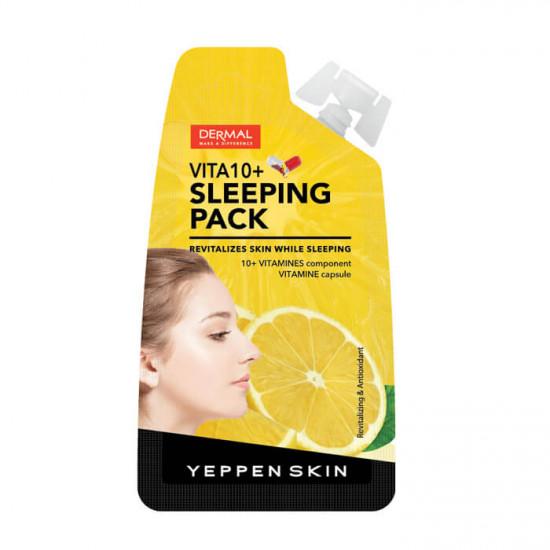 Yeppen Skin Skin Vita 10 + Sleeping Pack - Masca pentru față