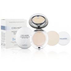 Enough Collagen Whitening Moisture Two Way Cake (№21) - Pudra Anti-Age cu rezerva