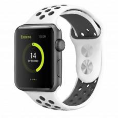 Curelușă Helmet Apple Watch 38/40 S/M, White/Black