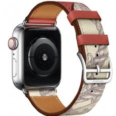 Curelușă VPG Rhea Series Apple Watch 40mm, Red