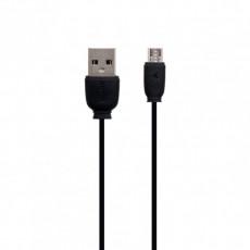 Cablu Remax RC-134m MicroUSB/USB2.0, Black