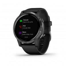 Ceas inteligent Garmin Vivoactive 4, wich Slate Hardware (GPS), Black