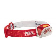 Lanterna Petzl ACTIK CORE RED