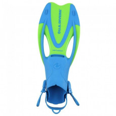 Labe inot AquaLung PROFLEX JUNIOR OH L, Bright blue/Yellow