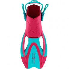 Labe inot AquaLung Zinger Junior L, Turquoise/Bright pink