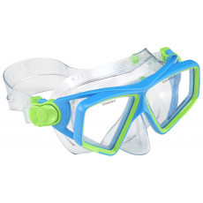 Mască pentru înot AquaLung LANAI JR, Blue/Green