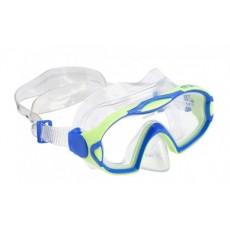 Mască pentru înot AquaLung MEERKAT JUNIOR S, Bright green/Light blue