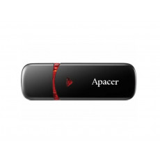 16 GB USB 2.0 Stick USB Apacer AH333, Black (AP16GAH333B-1)