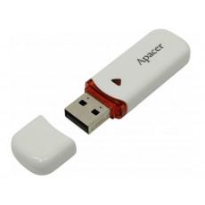 32 GB USB 2.0 Stick USB Apacer AH333, White (AP32GAH333W-1)