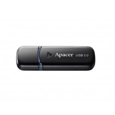 64 GB USB 3.1 Stick USB Apacer AH355, Black (AP64GAH355B-1)