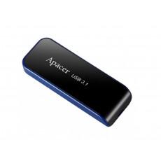 32 GB USB 3.1 Stick USB Apacer AH356, Black/Blue (AP32GAH356B-1)
