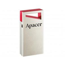 32 GB USB 2.0 Stick USB Apacer AH112, Silver/Red (AP32GAH112R-1)