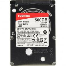 "2.5"" Hard disk (HDD) 500 Gb Toshiba L200 (HDWK105UZSVA)"