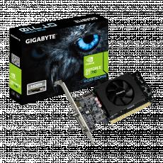 Placă video Gigabyte GeForce GT710 2GB GDDR5 Low Profile (2 GB/GDDR5/64 bit)