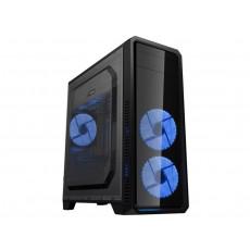 Carcasă Gamemax G561-F, Blue (ATX)