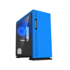 Carcasă Gamemax EXPEDITION H605, Blue (mATX)