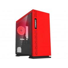 Carcasă Gamemax EXPEDITION H605, Red (mATX)
