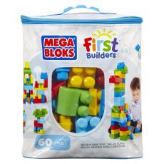 "Mattel DCH55 Set Mega Bloks - primul constructor - seria ""First Builders"" 60 piese"