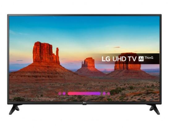 """Televizor LED 43 """" LG 43UK6200PLA, Black"""
