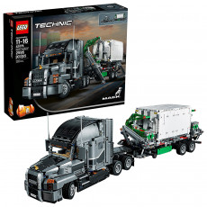 Lego Technic 42078 Camion mare Mack Anthem, 2 in 1