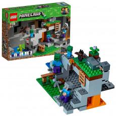 Lego MINECRAFT 21141 Pestera cu zombi
