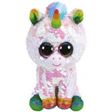 TY Flippables TY36781 Jucărie moale Unicorn Pixy alb