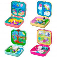 """Mattel Polly Pocket GDK76 Set de joc  """"Ținuturi secrete"""" (în sortiment)"""