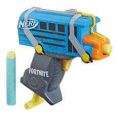 Hasbro Nerf E6752 Blaster Nerf Microshots Fortnite Battle Bus