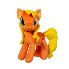 "STIP ST414 Jucărie moale ""Pony oranj"", 30 cm"