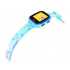 Ceas cu GPS pentru copii Wonlex 4G-T10, Blue