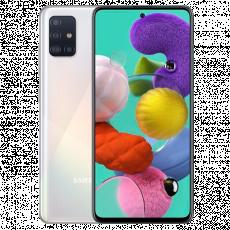 Smartphone SAMSUNG Galaxy A51 (6 GB/128 GB) White