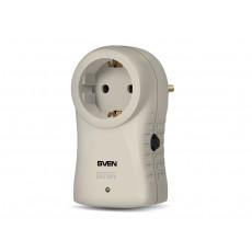 SVEN Surge Protector Sven SF-S1 1Sockets, Grey, flame-retardant - http://www.sven.fi/ru/catalog/filter/sf-s1.htm