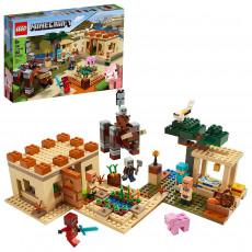 LEGO Minecraft 21160 Lego Minecraft Patrulă de tâlhari (The Illager Raid)