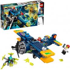LEGO Hidden Side 70429  Avionul de cascadorii al lui El Fuego
